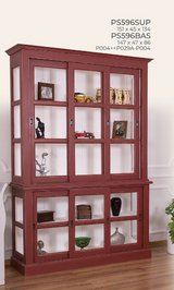 United Furniture - Curio 596 - Solid Wood - is available in all colors - price includes delivery in Wiesbaden, GE