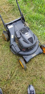 Self powered propelled lawn mower in Stuttgart, GE