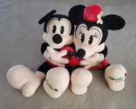 Disney Mickey and Minnie Collectible Stuffed Dolls in Okinawa, Japan