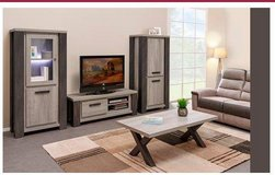 United Furniture - Miko Entertainment Wall Unit in Dark Forest + Black including delivery in Wiesbaden, GE