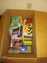 Box of childrens books in Fort Leonard Wood, Missouri