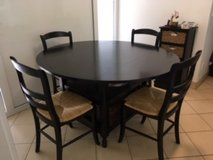 Versatile Kitchen Table and 4 Chairs in Stuttgart, GE