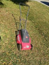 Corded electric mower in Travis AFB, California