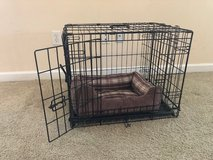 small dog cage and bed in Warner Robins, Georgia