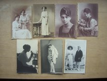 7 very old German postcards (unused) in Grafenwoehr, GE