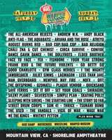 Two 2-day tickets to Warped Tour in Travis AFB, California
