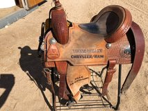 "14"" barrel saddle in 29 Palms, California"