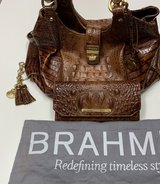 ***BRAHMIN Luxury Melbourne Collection Elisa Crocodile-Embossed PURSE SET*** in The Woodlands, Texas