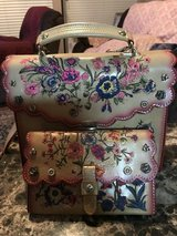 ***PATRICIA NASH***Prairie Rose Embroidery Simona Satchel/Wallet SET*** in The Woodlands, Texas