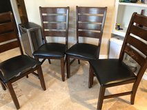 4 chairs in Conroe, Texas