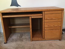 Sturdy wooden desk in Camp Pendleton, California