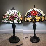 2 x Tiffany style table lamps in Naperville, Illinois