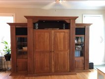 Huge custom crafted entertainment center - $300 in Wilmington, North Carolina