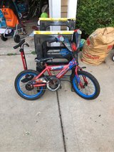 "16"" Spider-Man bike in Glendale Heights, Illinois"