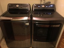 LG Washer & Dryer Still Brand New in Travis AFB, California
