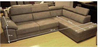 United Furniture - Neuss 2L Sectional including delivery - 4 different colors available in Wiesbaden, GE