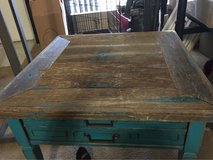 reclaimed table in The Woodlands, Texas