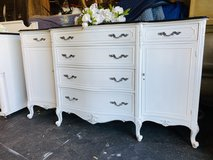 Gorgeous Vintage French Buffet Dresser Credenza vanity in DeKalb, Illinois