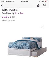 Double bed with twin trundle in Kingwood, Texas