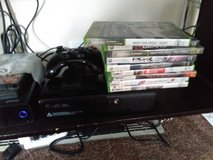 Xbox 360 Slim E With External Drive and Games in St. Charles, Illinois