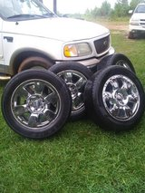 20 inch 6 lug GMC rims in Leesville, Louisiana