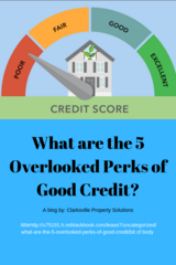 What are the 5 Overlooked Perks of Good Credit? in Fort Campbell, Kentucky