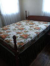 Full size bed w/mattress and foundation in Camp Lejeune, North Carolina