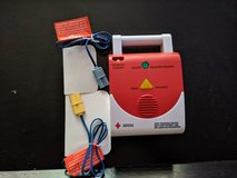 AED. For CPR training in The Woodlands, Texas