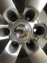 Nissan Titan Factory Alloy Wheels in Kingwood, Texas