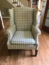 High Back Rose Print Upholster Chair in Wilmington, North Carolina