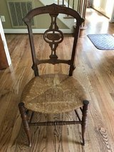 Cherry Wood Secretary Chair in Wilmington, North Carolina