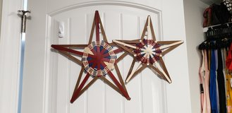 Set of 2 Longaberger Americana Stars in Camp Lejeune, North Carolina