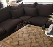 3piece sectional with hide a bed in New Lenox, Illinois