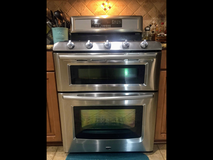 Maytag double oven,fridge and over stove microwave set in New Lenox, Illinois