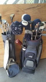 Two sets of clubs complete with bags in Livingston, Texas