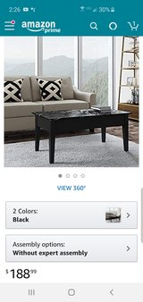 New lift top coffee table in Fort Campbell, Kentucky