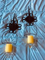 KIRKLAND CANDLE SCONES - SET OF 2 - BRAND NEW CANDLES INCLUDED. in Kingwood, Texas