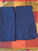 BLUE CURTAINS - set of 2 in Kingwood, Texas