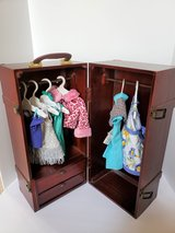 WOODEN DOLL CLOTHES ARMOIR CABINET in Naperville, Illinois