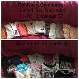 School clothes size 10/12 in New Lenox, Illinois