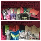 School clothing size 7-8 in New Lenox, Illinois