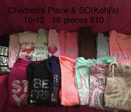School clothing size 10/12 in New Lenox, Illinois