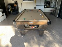 Pool table in Fairfield, California