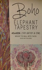 Elephant Tapestry in Kingwood, Texas