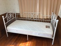 Day/Single Bed, excellent condition! (get both frame and mattress) in Okinawa, Japan