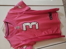 Russell Wilson authentic pink jersey in Fort Lewis, Washington