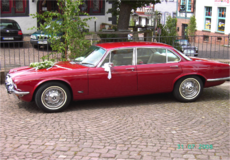 Chaufuer Driven Wedding Car in Ramstein, Germany