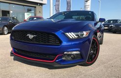 2016 Ford Mustang EcoBoost **BLUE & RED** in Grafenwoehr, GE