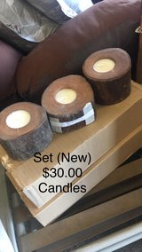 Set of Candles (New) in Fort Leonard Wood, Missouri