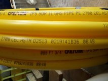 "3/4"" IPS SDR11 Yellow Gas Poly Pipe 125 feet in Spring, Texas"